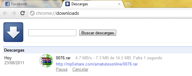 Como Acelerar Descargas de Google Chrome