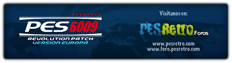 New Update Of The Pes Patch 6009 Created By The Forum Pes Retro For
